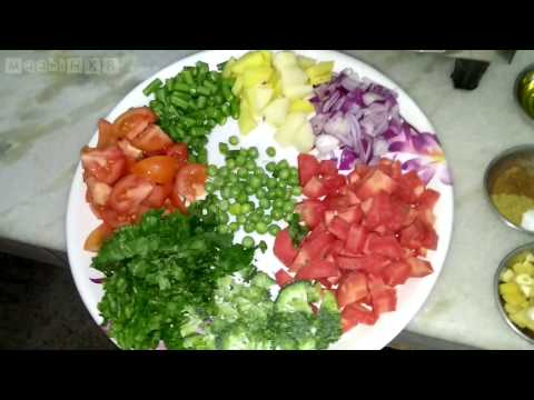 Fresh Vegetable Soup – Healthy Diet