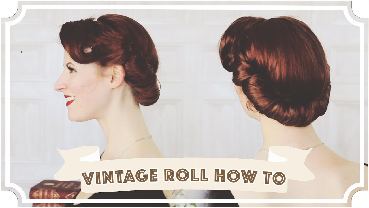 Vintage Roll How To Easy Vintage Hair Cc Youtube