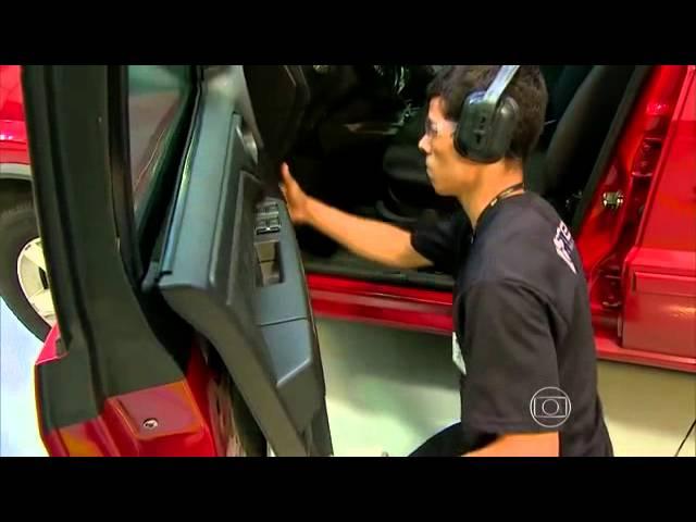 Saiba como é feita a manutenção de um carro blindado, Programa Auto Esporte, gravado na Steel.
