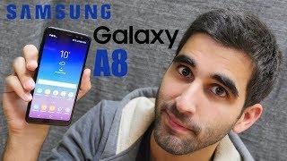 TEST du SAMSUNG GALAXY A8 (2018), l'élu ?