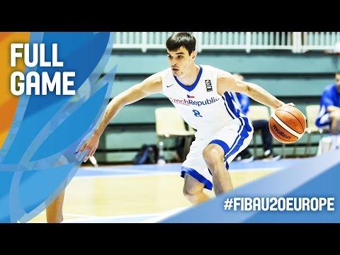 Czech Republic v Ukraine - Full Game - CL 7-8 - FIBA U20 European Championship 2016