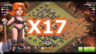 Clash of Clans | TH11 GoWiVa Attacks | Town Hall 11 Valkyrie War Attack Strategy 2018