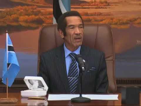 Namibia and Botswana sign Boundary Treaty-NBC