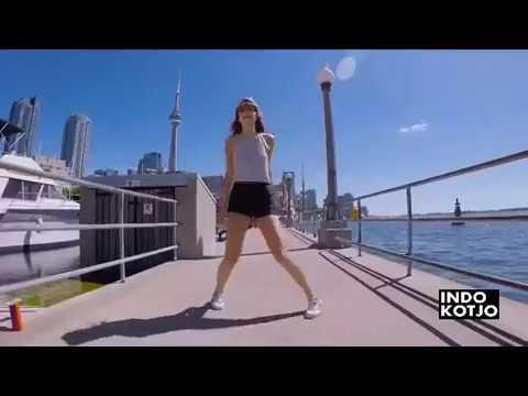 SHUFFLE DANCE GIRL WITH DJ REMIX TOBELO