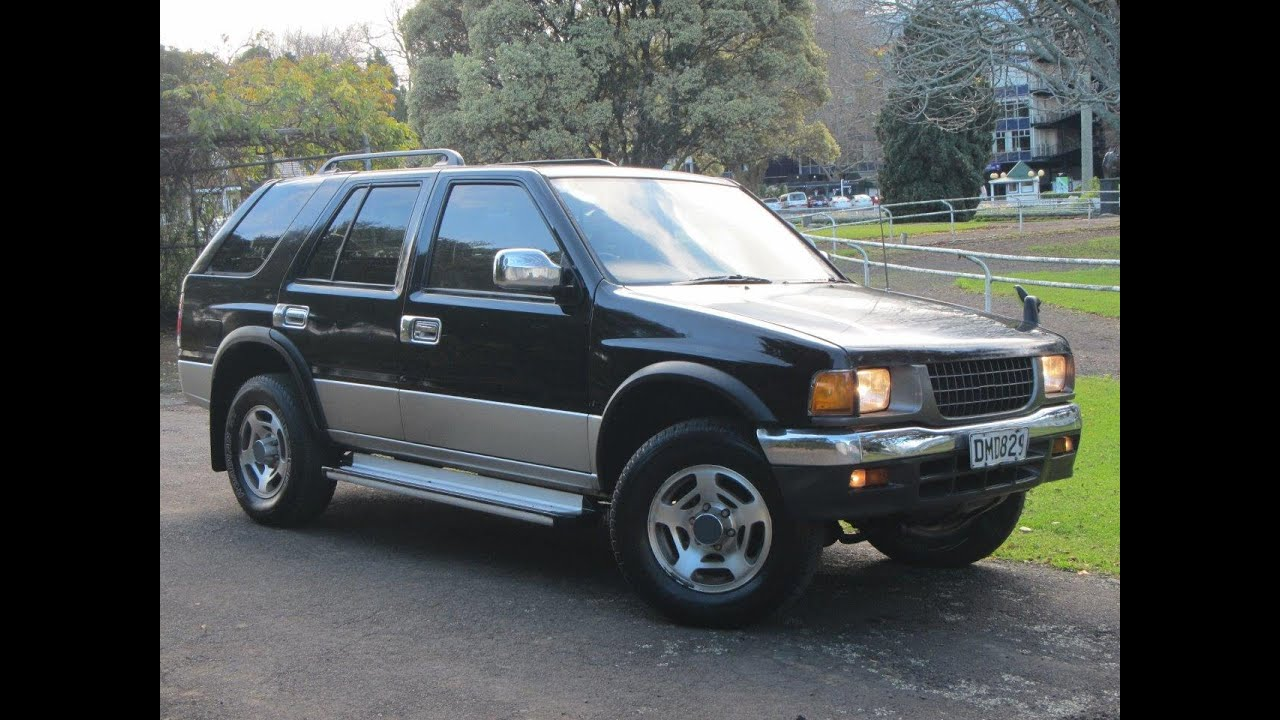 1995 isuzu mu wizard 4x4 auto diesel suv cash4cars cash4cars sold youtube. Black Bedroom Furniture Sets. Home Design Ideas