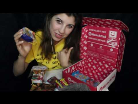 Eatin' Snacks from Around the World ~ Mouth Sounds/Crinkles/Silliness