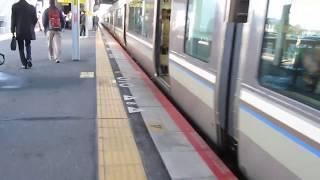 JR西日本 223系2000番台 普通 野洲行き 膳所駅 南草津駅  20190320