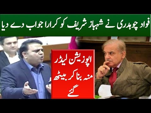 Fawad Chaudhary Speech In Parliament | 17 October 2018 | Neo News