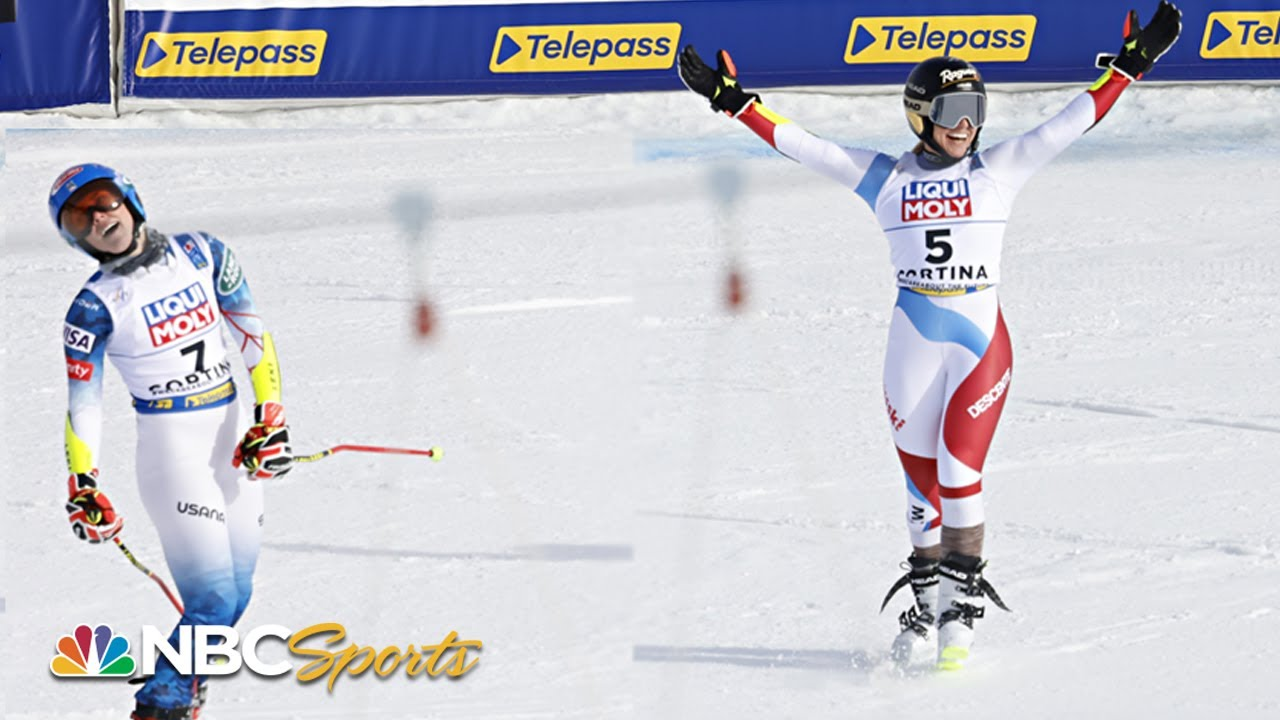 Shiffrin's bid for historic GS gold comes down to final reach at Worlds | NBC Sports