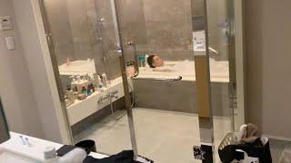 【禁断】入浴中のヒカルにいきなりカメラ回して突撃したらブチ切れる?