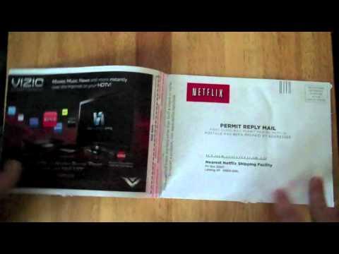 First Netflix DVD!