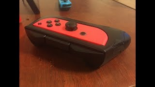 Avidet Controller Grip (for Nintendo Switch) Review (Video Game Video Review)