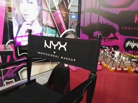 Inaugurazione Nyx Cosmetics Palermo