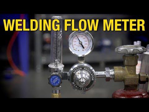 Eastwood Welding Flow Meter - Accurately Measure Gas Flow When Welding!