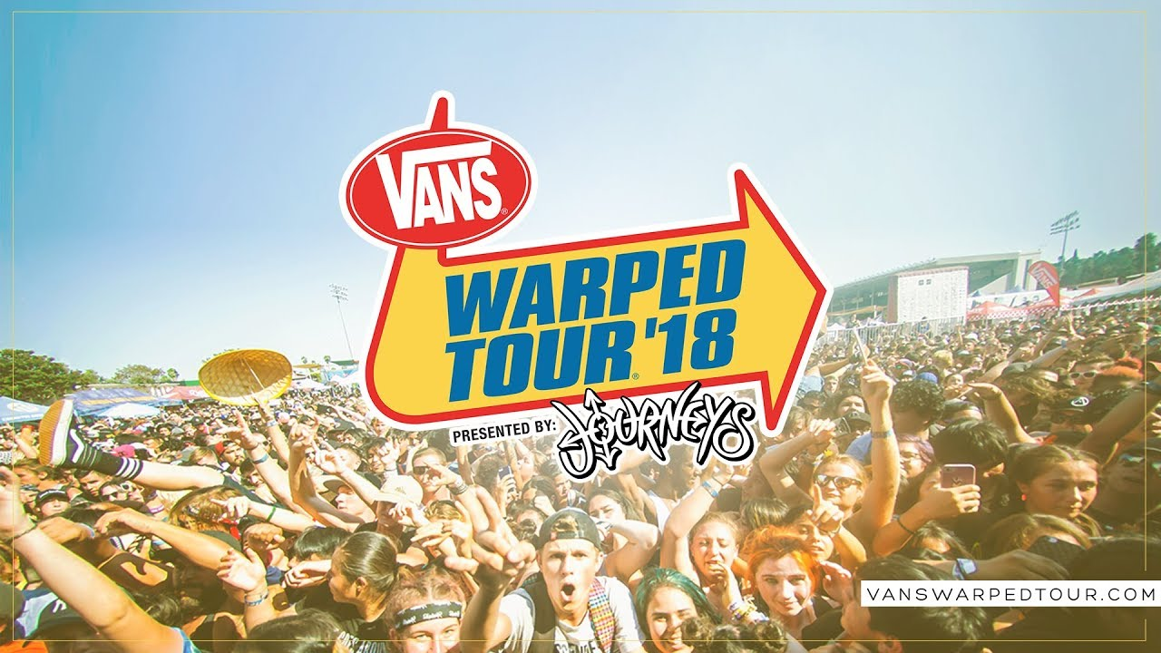 2018 Vans Warped Tour Updated Routing
