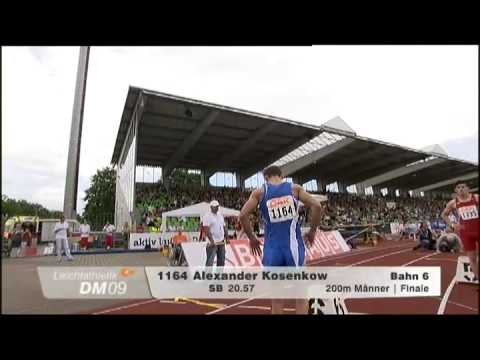 200m Finale DM 2009 in Ulm