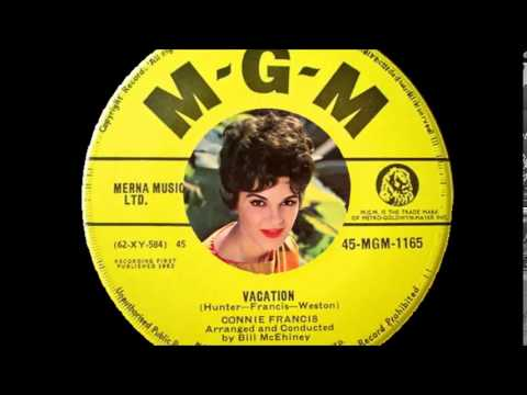 Connie Francis - Vacation  (1962)