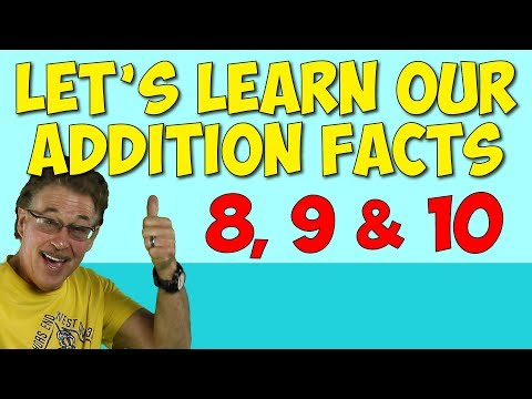 Let's Learn Our Addition Facts 3 | Addition Song for Kids | Math for Children | Jack Hartmann