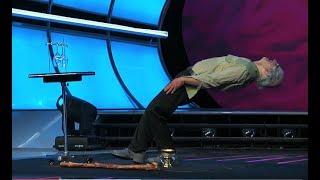 Increíble Hombre Viejo  Levitando En Tengo Talento -  Special Head
