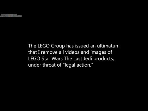 LEGO mistake: See pinned comment (Star Wars TLJ review takedown)