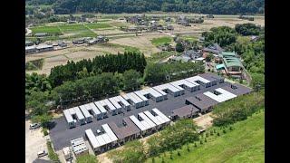 【九州豪雨】熊本県球磨村で仮設入居始まる(ドローン映像)