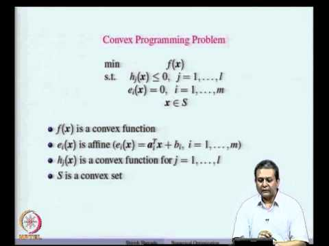 Mod-07 Lec-20 Constrained Optimization - Local and Global So