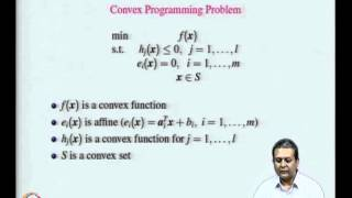 Mod-07 Lec-20 Constrained Optimization - Local and Global Solutions, Conceptual Algorithm