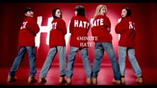 4Minute Hate Empty Arena Version. Enjoy ^_^