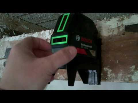 Bosch Professional Laser GCL 2-15 G / Decke abhängen