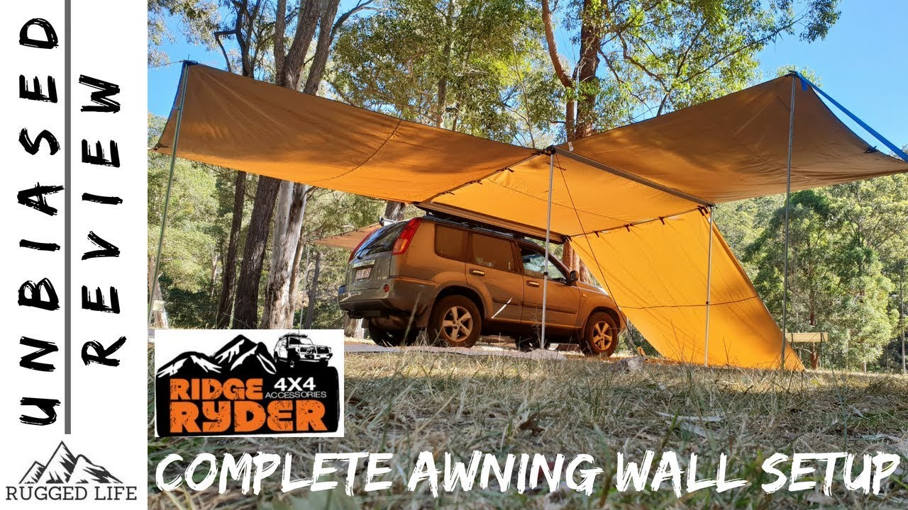 RIDGE RYDER FRONT AND SIDE AWNING WALL - Unbiased review ...