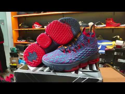 2212ce8f Баскетбольные кроссовки Nike Lebron 15 (XV) from LeBron James в магазине  youmarket.kz - YouTube