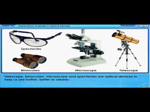 Applications of Lenses - in Optical Devices (F4 C5 L101 V14)