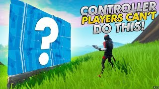 This SECRET Is why I SWITCHED To KEYBOARD AND MOUSE! Controller Players CAN'T DO THIS! (FORTNITE PC)