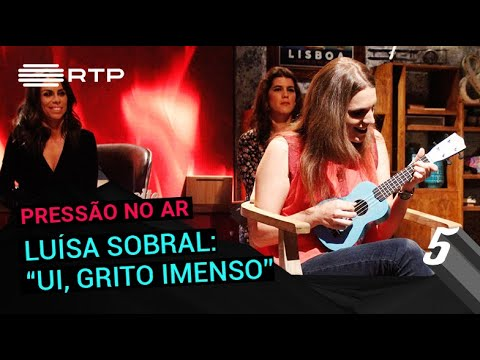 Luísa Sobral: 'Ui, grito imenso' | 5 Para a Meia-Noite | RTP