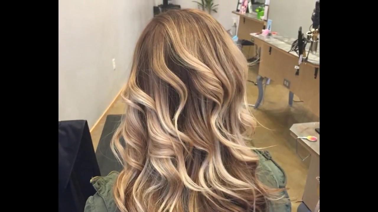 Haarfarben Caramel Braun Blond Youtube