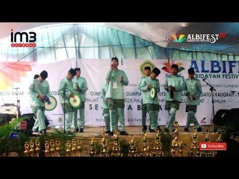 Ghonili Swaya   QOSIDAH   Qistifa - Alfalah   Albidayah Festival se - Jawa Barat 2018 (Juara 3)
