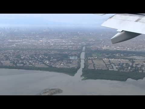 Indonesië, Landing at Jakarta Airport (Soekarno-Hatta) Indonesia