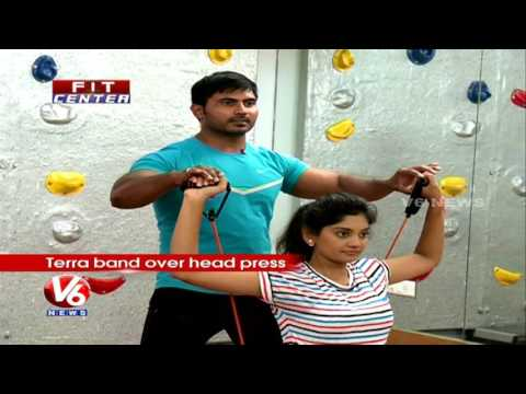 Fit Center | Trainer Venkat Fitness Tips To Build Six Pack In 100 Days | V6 News