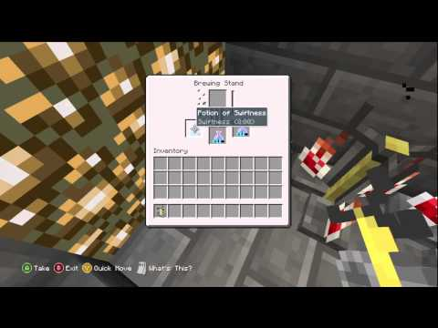 Minecraft Xbox 360 Edition: How to Brew Potions (Tutorial)