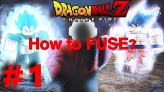 COMO FUSE??? ( Con FORMAS! ) En IOS/Android/PC! ROBLOX: Dragon Ball Z Online Fire!