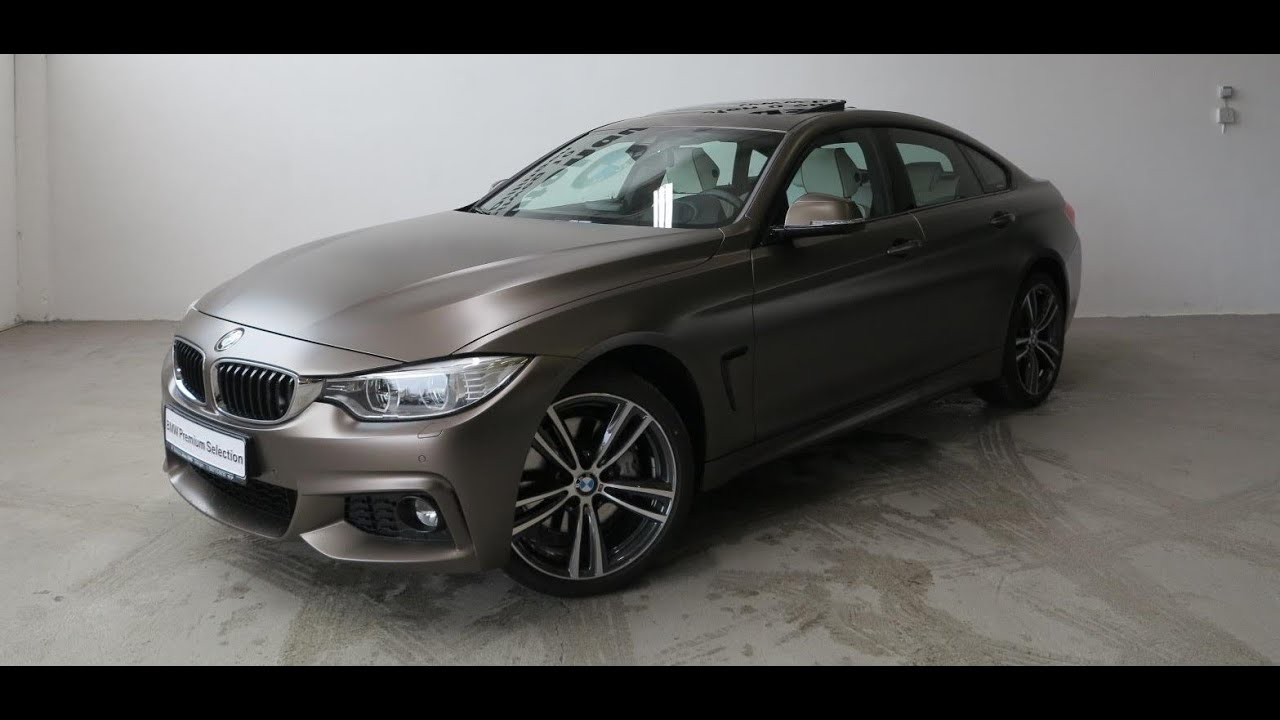 BMW 435i xDrive Gran Coupe Frozen Bronze Metallic - YouTube