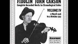 Fiddlin John Carson-Silver Threads Among The Gold
