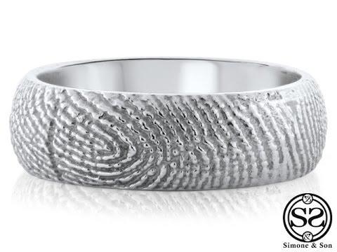 Best 25+ Fingerprint wedding bands ideas on Pinterest ...