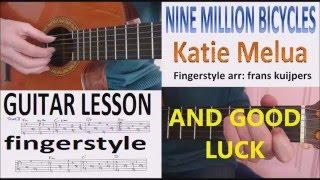 NINE MILLION BICYCLES   KATIE MELUA   Guitar Lesson