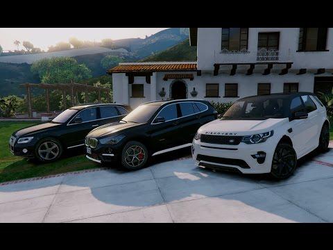 Gta V Land Rover Discovery Sport Hse Vs Bmw X1 2017 Vs