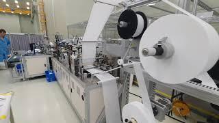마스크 생산설비(국내제작) - (주)에이엔에이치