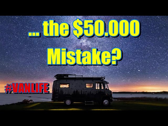 The $50.000 mistake I was just about to make, Best #motovan worth building, forget about #vanlife