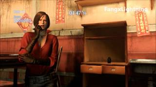 Resident Evil 6 - All Taunts In All Languages & All Costumes