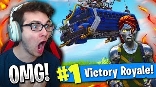 OMG *WINNING* BY MYSELF IN 50v50 ON FORTNITE BATTLE ROYALE! (NEW SKIN!)