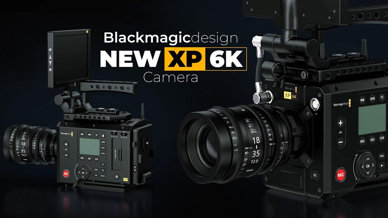 Blackmagic New Xp 6k Cinema Camera 2020 Youtube